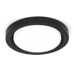 Светильник Gauss Tablet GX502 Круг. Кристал Черный, GX70 1/30