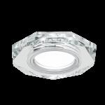 Светильник Gauss Mirror RR012 Восемь гран. Кристал/Хром, Gu5.3 1/50
