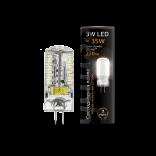 Лампа светодиодная Gauss LED G4 12V 3W 2700K 1/20/200