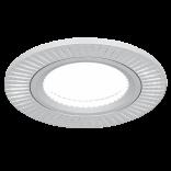 Светильник Gauss Aluminium AL013 Круг. Матовый алюминий, Gu5.3 1/100