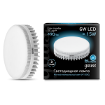 Лампа светодиодная Gauss LED GX53 6W 4100K