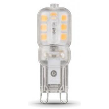 Лампа светодиодная Gauss LED G9 AC220-240V 3W 4100K пластик 1/20/200