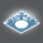 Светильник Gauss Backlight BL062 Квадрат. Кристалл/Хром, Gu5.3, LED 4100K 1/40