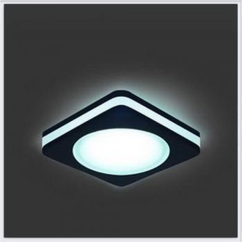 Светильник Gauss Backlight BL109 Квадрат. Черный, 5W, LED 4000K 1/60