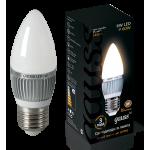 Лампа светодиодная Gauss LED Candle E27 6.5W 2700К 1/10/50