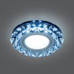 Светильник Gauss Backlight BL052 Кругл. Графит/Кристалл/Хром, Gu5.3, LED 4100K 1/40