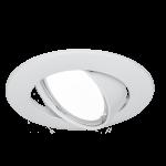 Светильник Gauss Metal CA005 Круг. Белый, Gu5.3 1/100