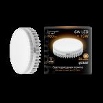 Лампа светодиодная Gauss LED GX53 6W 2700K