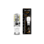 Лампа светодиодная Gauss LED G9 AC185-265V 3W 2700K 1/20/200