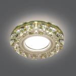 Светильник Gauss Backlight BL053 Кругл. Шампань/Кристалл/Хром, Gu5.3, LED 2700K 1/40