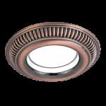 Светильник Gauss Antique CA040 Круг. Темная Бронза, Gu5.3 1/100