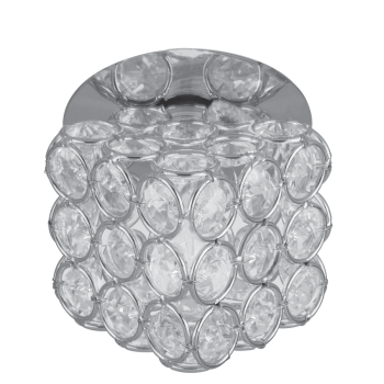 Светильник Gauss Brilliance CR062 Куб Кристалл/Хром, G9