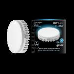 Лампа светодиодная Gauss LED GX53 8W 4100K