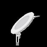 Светодиодный встраиваемый светильник Gauss ультратонкий круглый IP20 6W 4100K 1/20