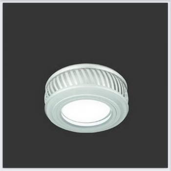 Светильник Gauss Backlight BL086 Кругл. Белый/Белый, Gu5.3, 3W, LED 3000K 1/30