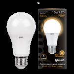 Лампа светодиодная Gauss LED общего назначения 10W 2700K (теплый свет)