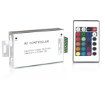Контроллер для светодиодной ленты RGB 144W 12А пульт упр. цв. 24 кнопки