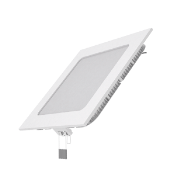 Светодиодный встраиваемый светильник Gauss ультратонкий квадратный IP20 9W 4100K 1/20