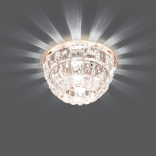 Светильник точечный Gauss Crystal BL012 Кристал, G9, LED 2700K 1/30