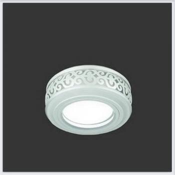 Светильник Gauss Backlight BL090 Кругл. Белый/Белый, Gu5.3, 3W, LED 3000K 1/30