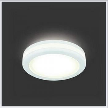 Светильник Gauss Backlight BL102 Кругл. Белый, 8W, LED 3000K 1/60