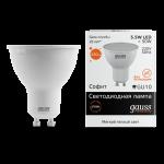 Лампа светодиодная Gauss Elementary LED GU10 5,5W 2700K (теплый свет)